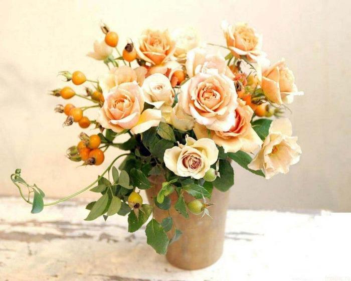 Использование роз