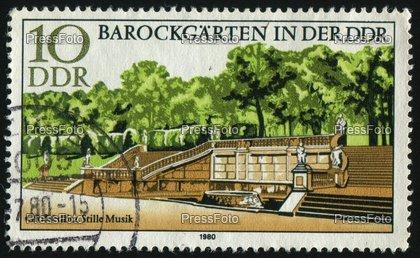 Германия, марка, барочные сады